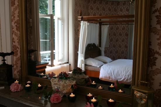 chambre rose soleil