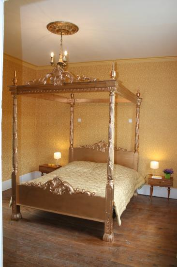 chambre dorée