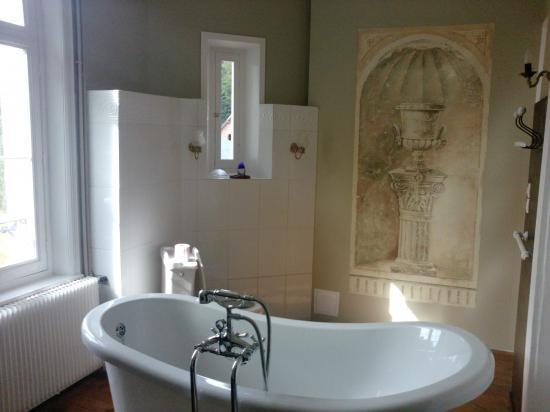 fresque du salon de bain
